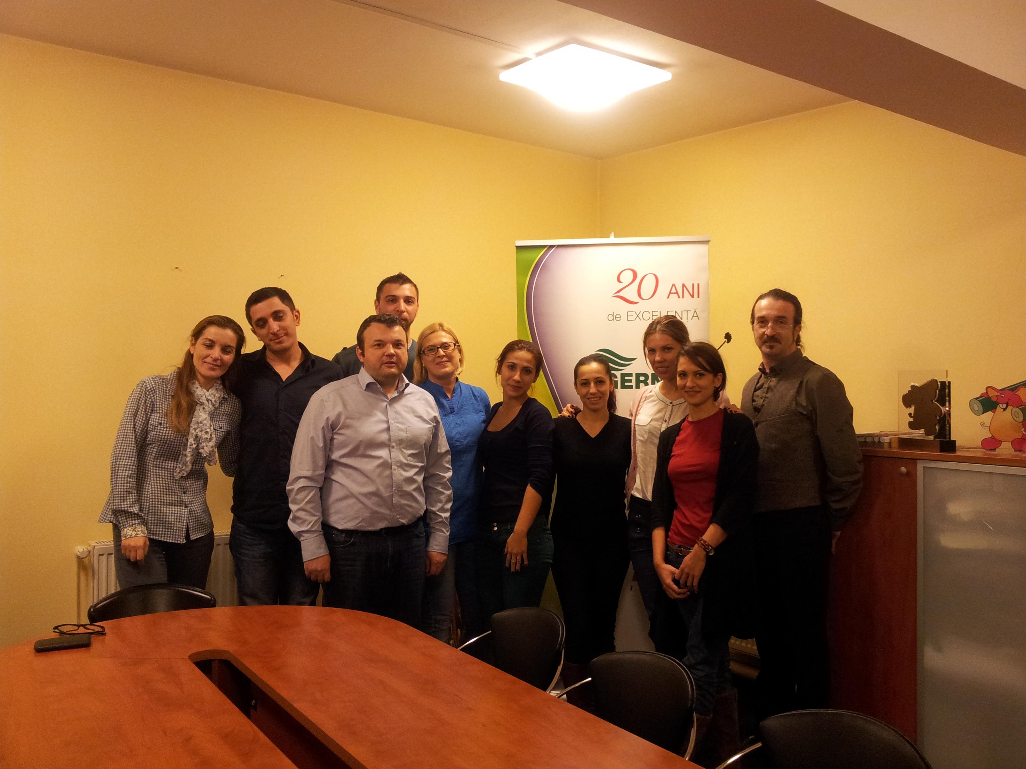 Impreuna cu echipa Algernon Impex - Bucuresti