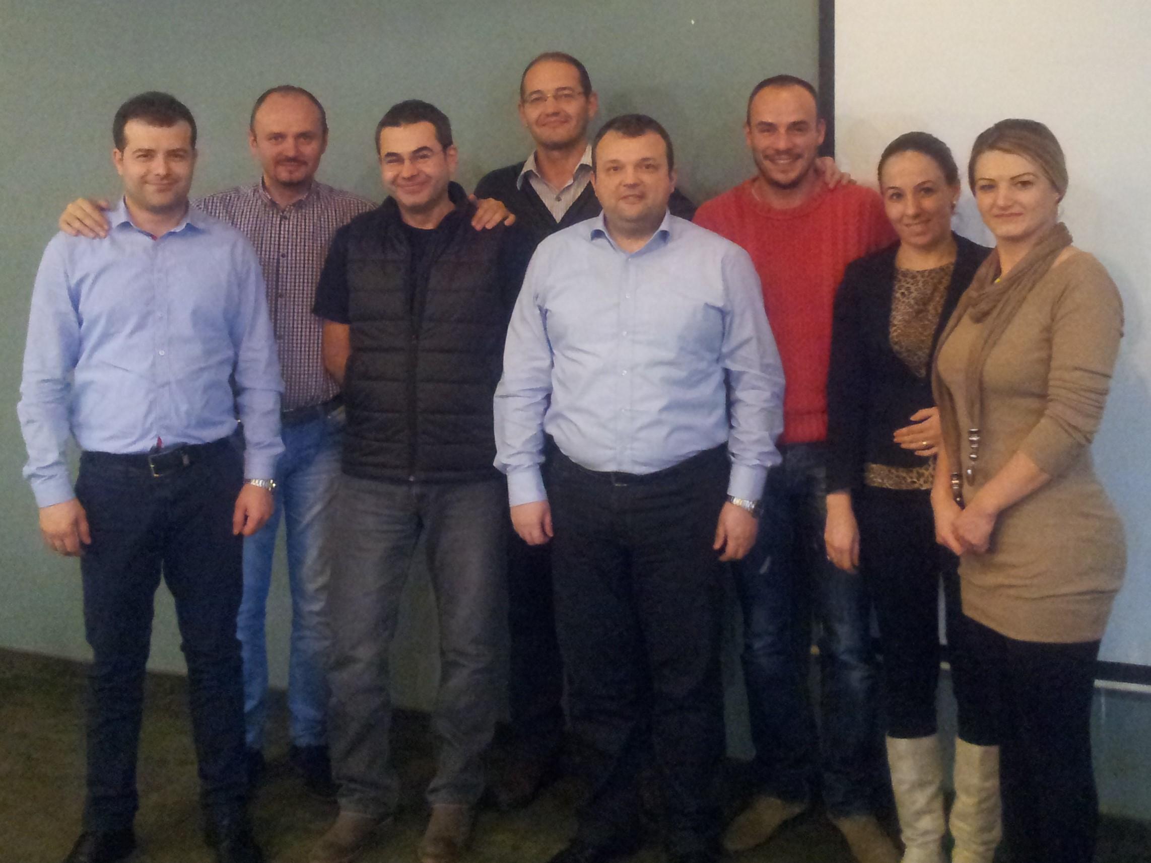 Impreuna cu echipa 4M Pardoseli Romania