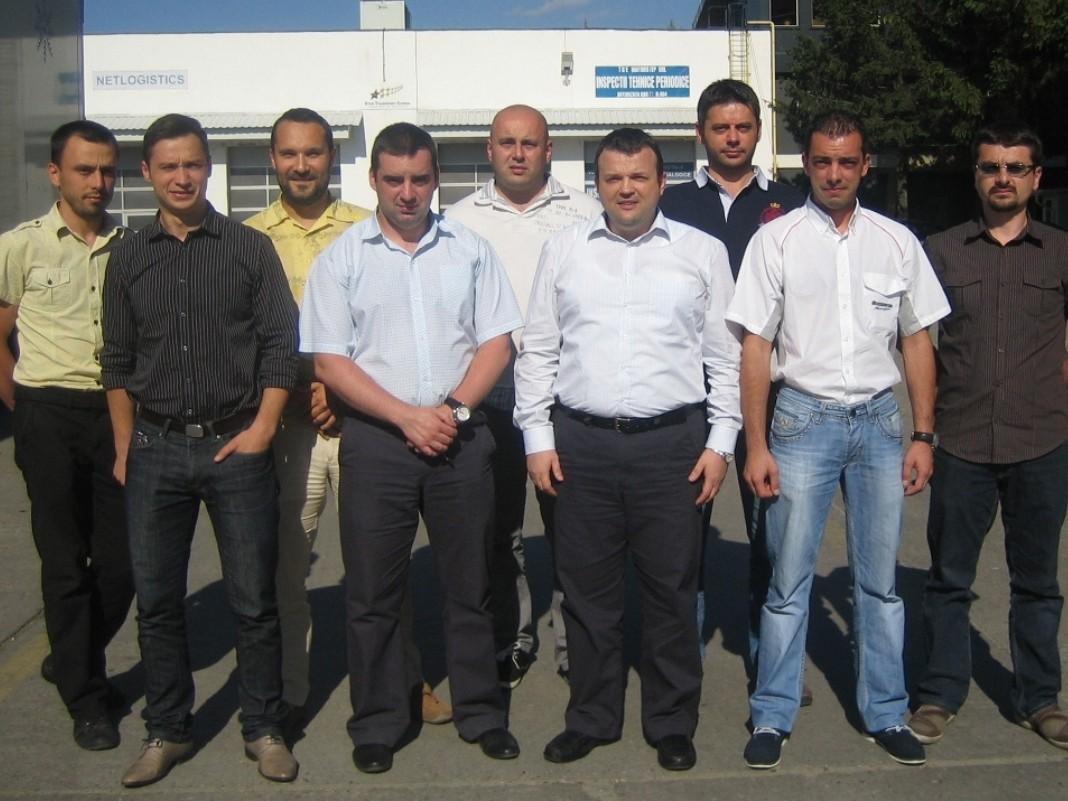 Impreuna cu echipa Bridgestone Romania - Bucuresti