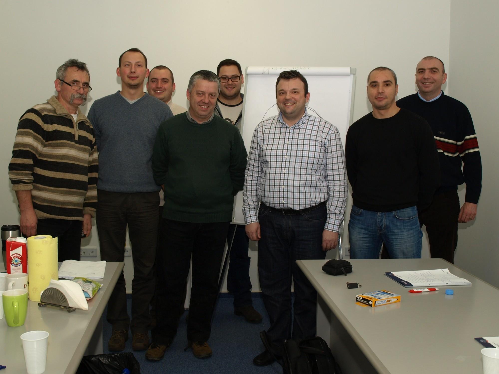 Impreuna cu echipa Nivelco Tehnica Masurarii - Targu Mures