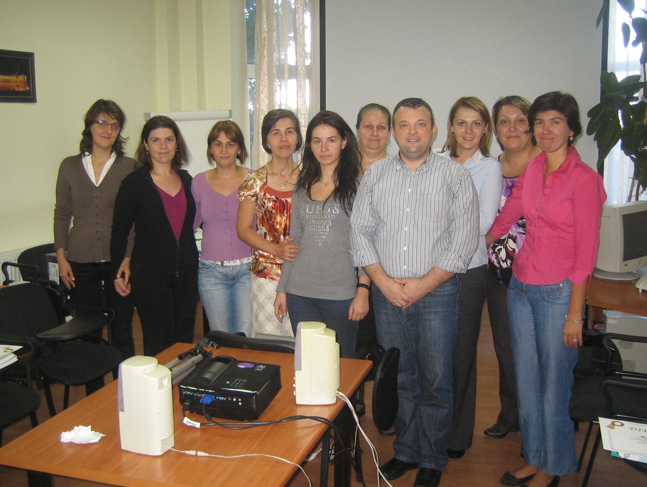 Impreuna cu echipa Salviafarm - Galati