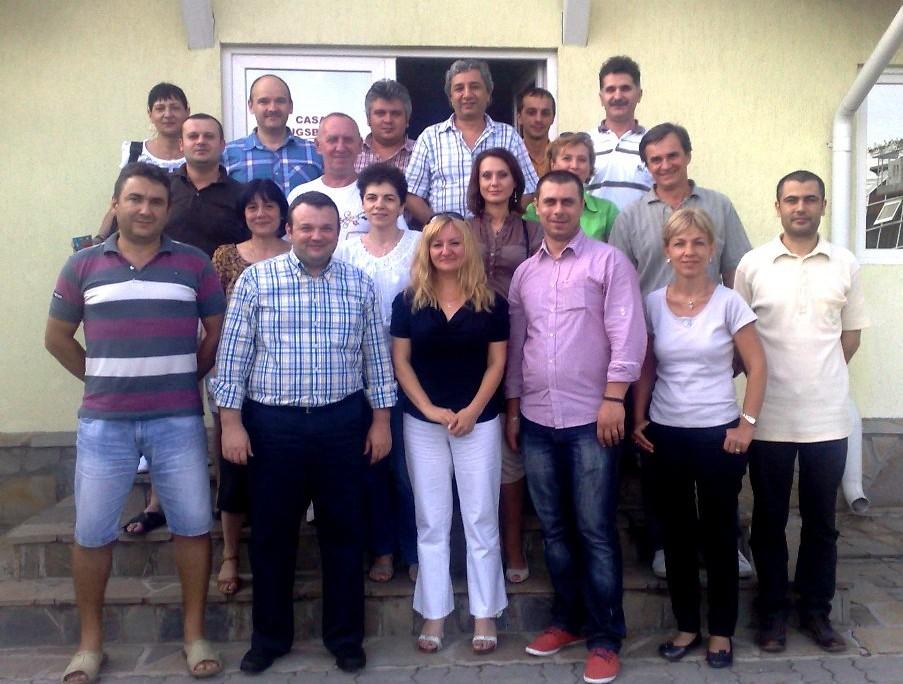 Impreuna cu echipa Techem Romania - Bucuresti