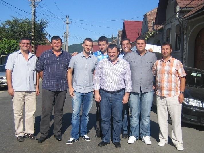 Impreuna cu echipa Technolub - Timisoara