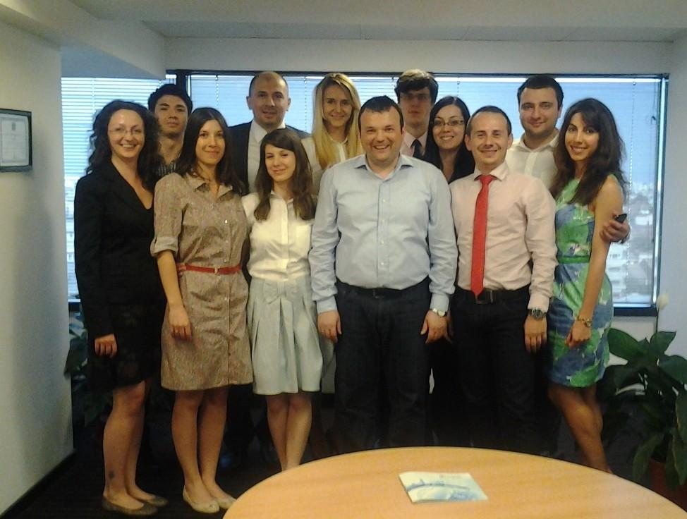 Impreuna cu echipa Tradeville - Bucuresti