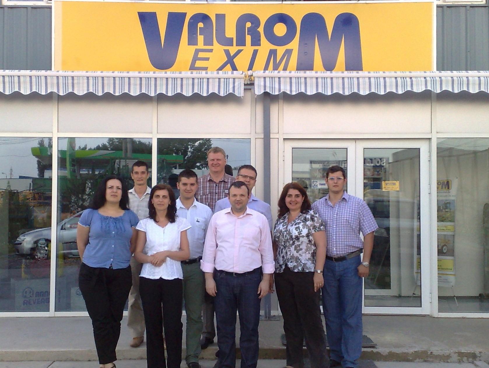Impreuna cu echipa Valrom Exim - Braila