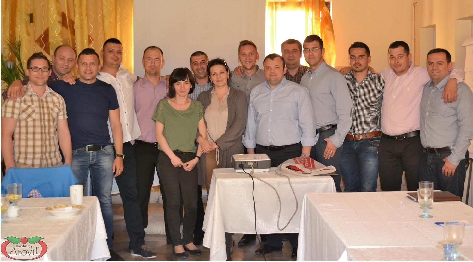 Impreuna cu echipa Arovit – Cluj