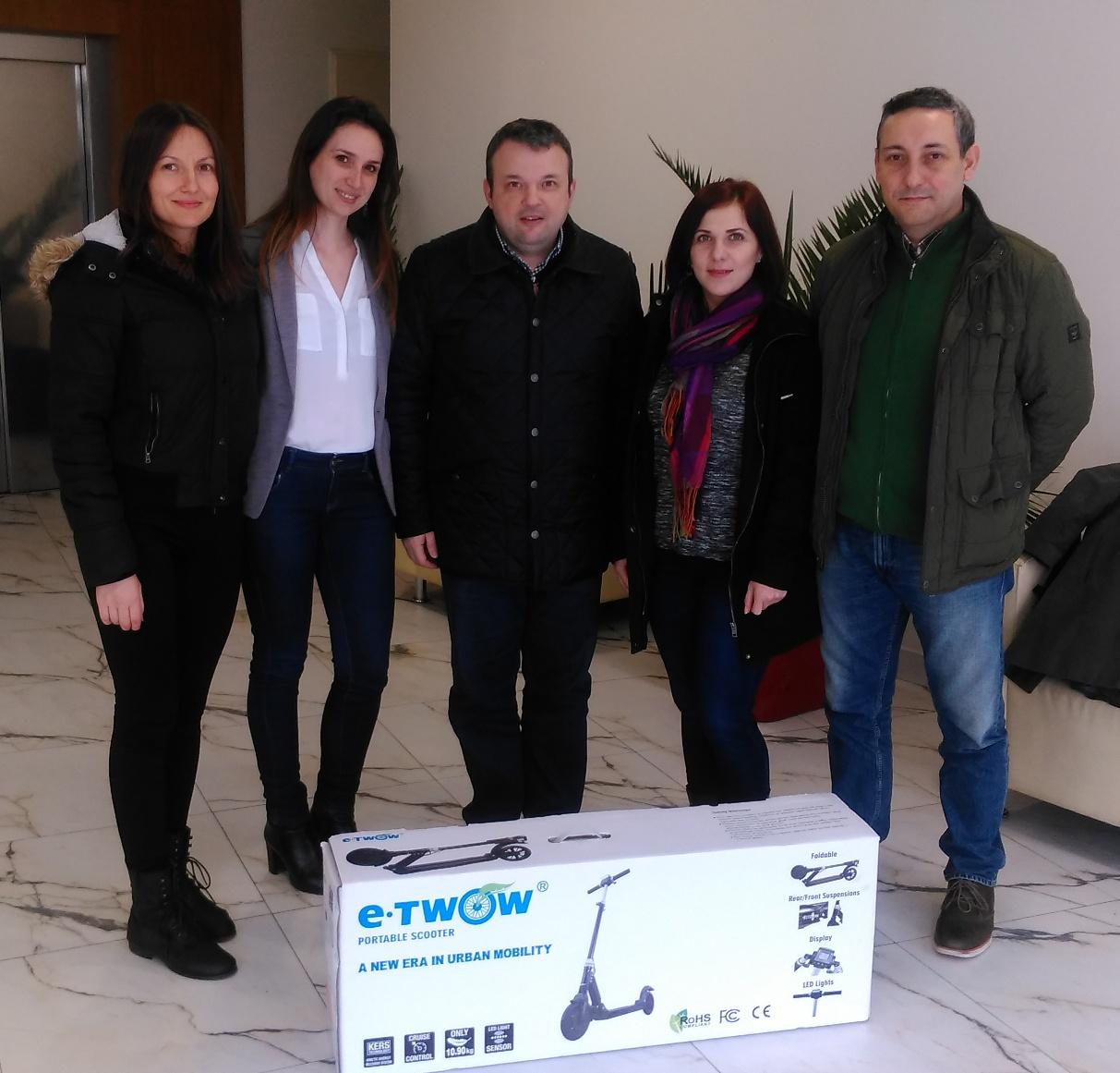 Mircea Enescu trainer vanzari E-Twow Craiova