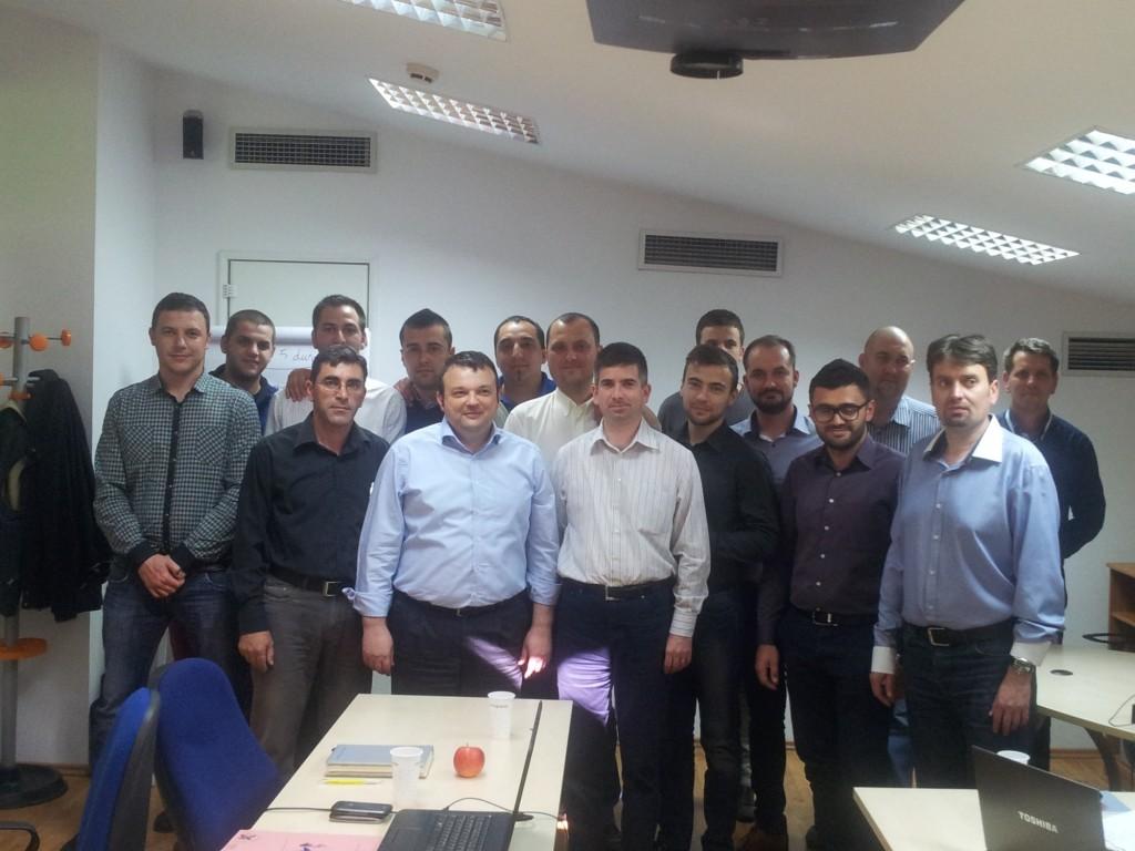 Mircea Enescu trainer vanzari Lindab 1