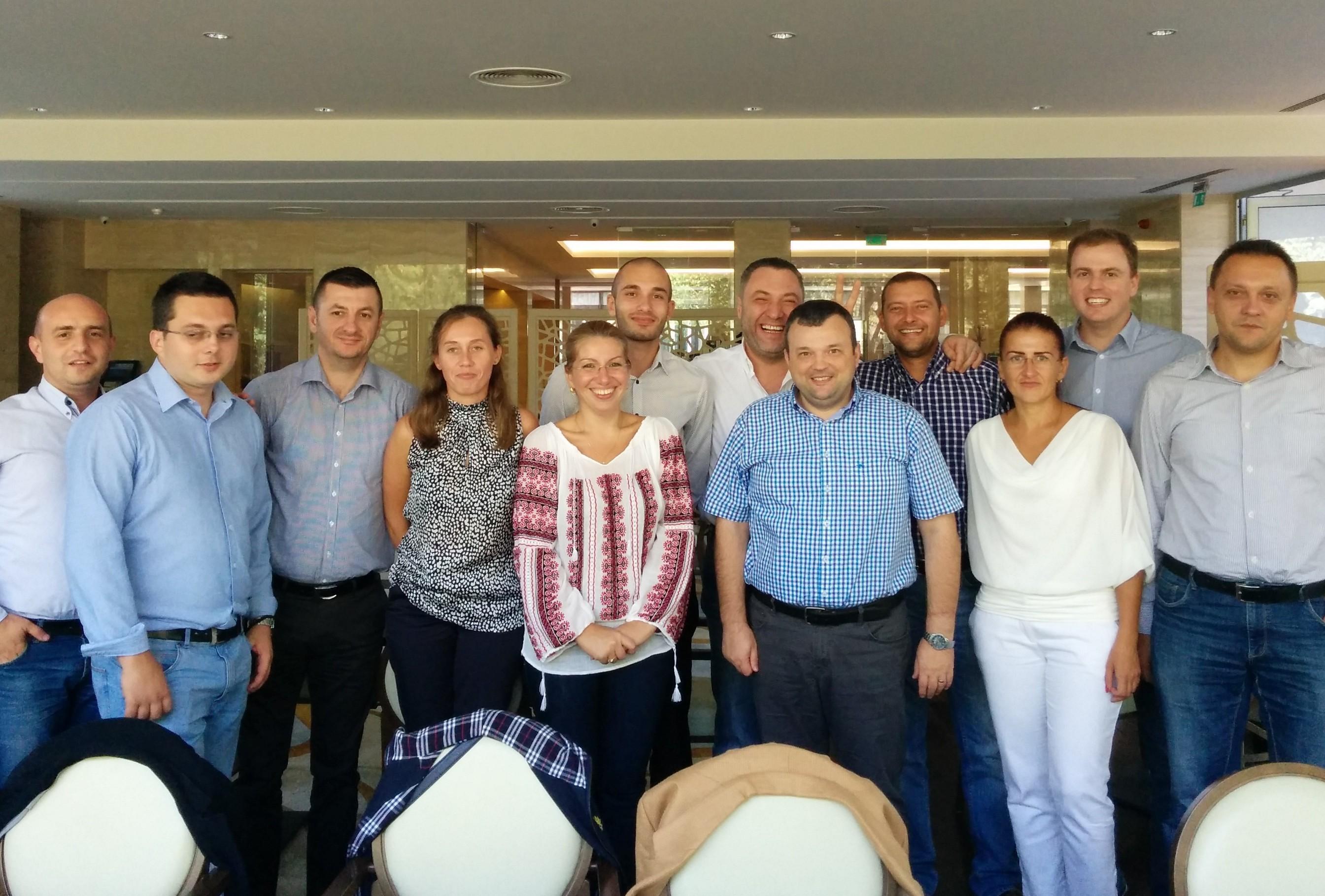 Impreuna cu echipa Pyramis Romania